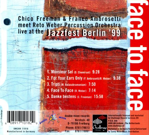 Face to Face: Live at Jazzfest Berlin '99