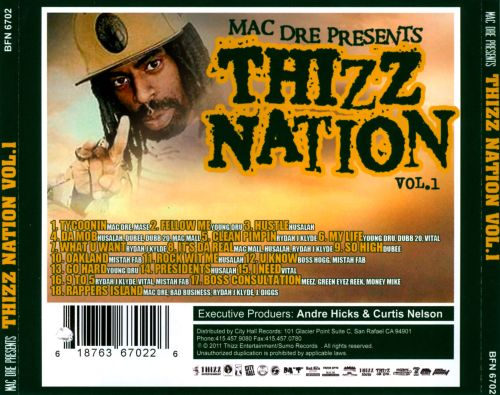Thizz Nation, Vol. 1