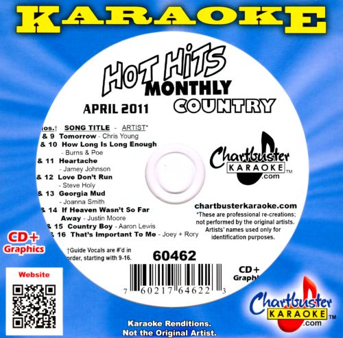 Chartbuster Karaoke: Hot Hits Monthly Country