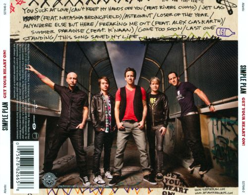 simple plan get your heart on album download
