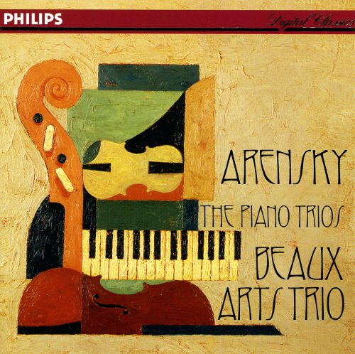 Anton Steponowich Arensky: The Piano Trios