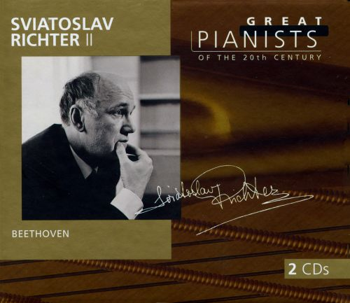 Great Pianists of the 20th Century: Sviatoslav Richter, Vol. 2: Beethoven