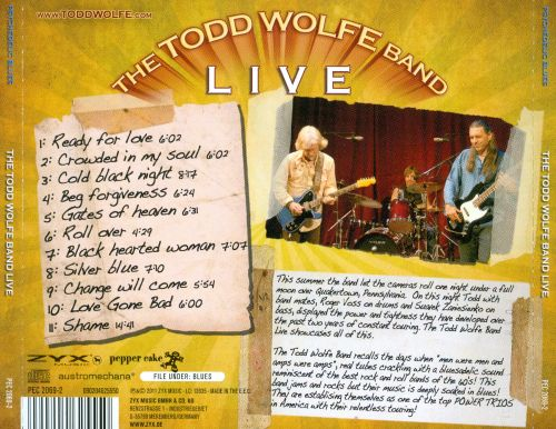 The Todd Wolfe Band Live