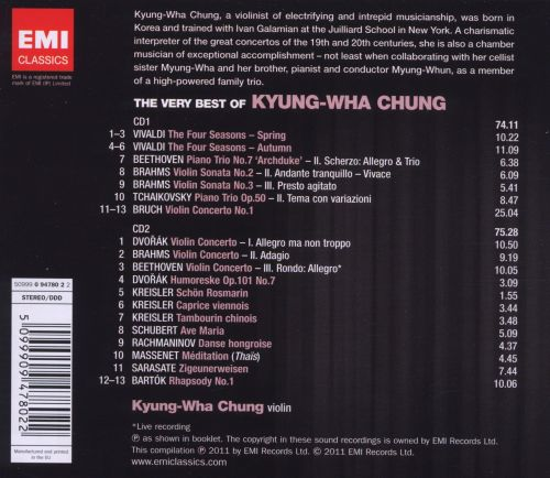 The Very Best of Kyung-Wha Chung