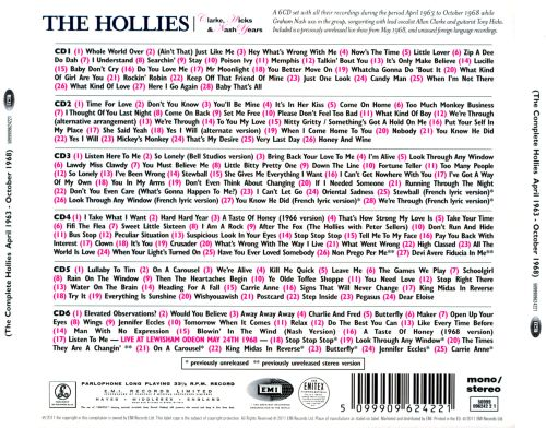 The Clarke, Hicks & Nash Years: The Complete Hollies (April 1963-October 1968)