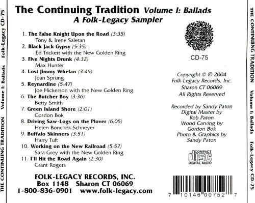 The Continuing Tradition, Vol. 1: Ballads