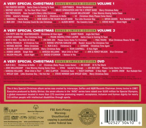 1 2 a very special christmas vols 1 2 - A Very Special Christmas