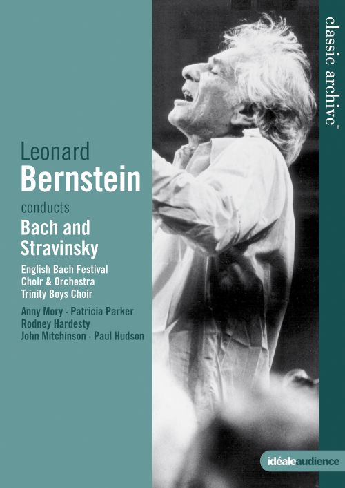 Bernstein Conducts Bach and Stravinsky