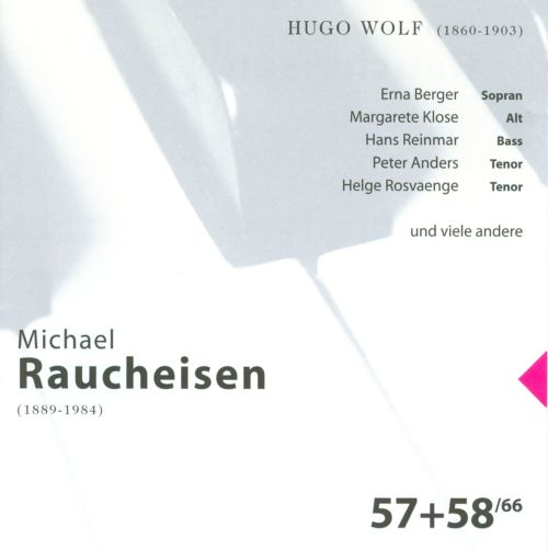 The Man at the Piano, CDs 57-58: Hugo Wolf