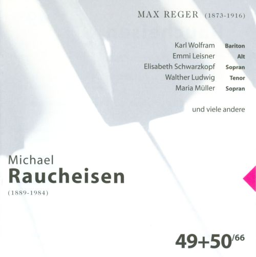 The Man at the Piano, CDs 49-50: Max Reger