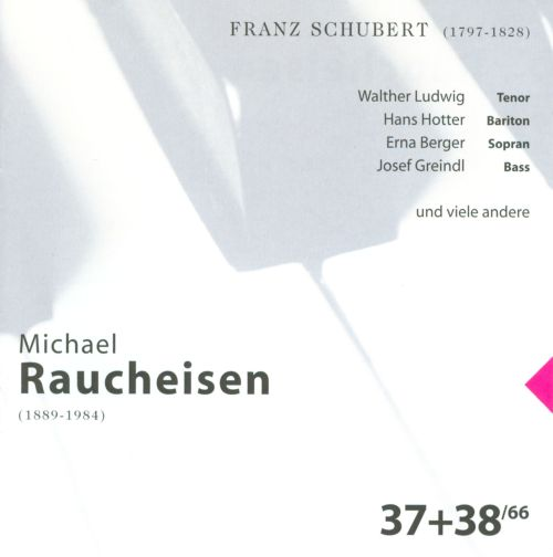 The Man at the Piano, CDs 37-38: Franz Schubert