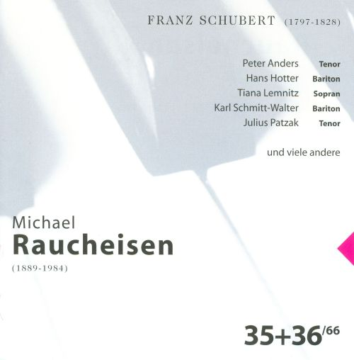 The Man at the Piano, CDs 35-36: Franz Schubert