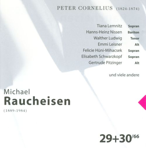 The Man at the Piano, CDs 29-30: Peter Cornelius