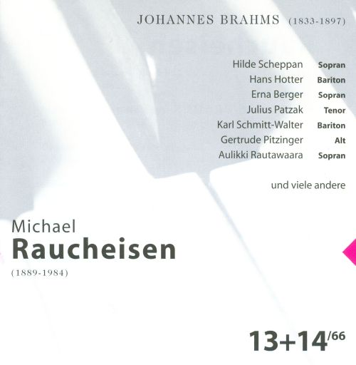 The Man at the Piano, CDs 13-14: Johannes Brahms