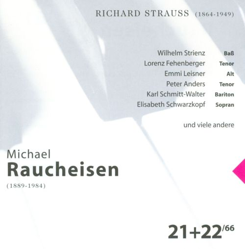 The Man at the Piano, CDs 21-22: Richard Strauss