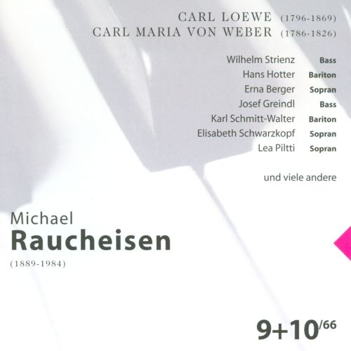 The Man at the Piano, CDs 9-10: Carl Loewe; Carl Maria von Weber