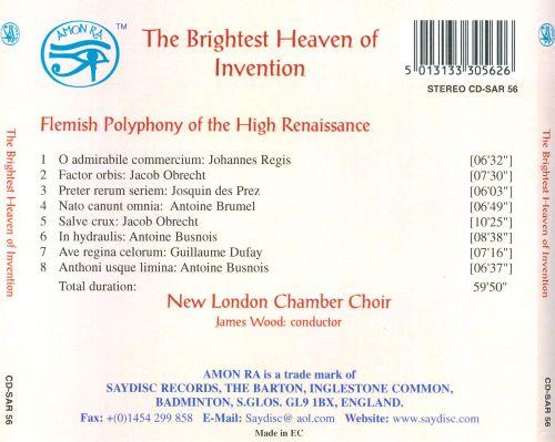 The Brightest Heaven of Invention