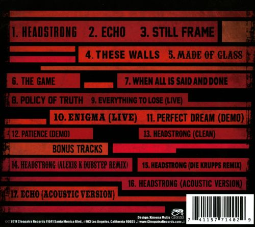 Headstrong - Trapt | Songs, Reviews, Credits | AllMusic