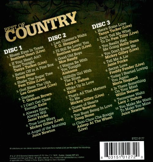 Best of Country [Sonoma]