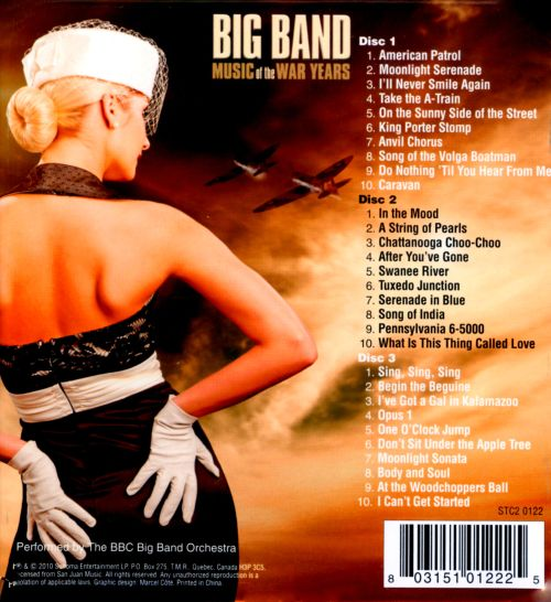 Big Band Music of the War Years