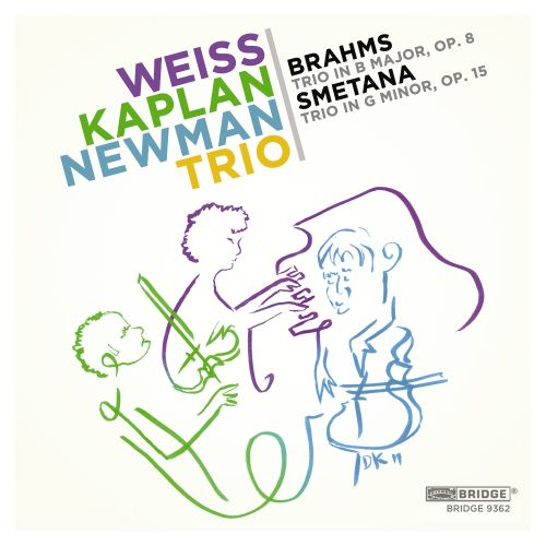 Brahms: Trio in B major, Op. 8; Smetana: Trio in G minor, Op. 15