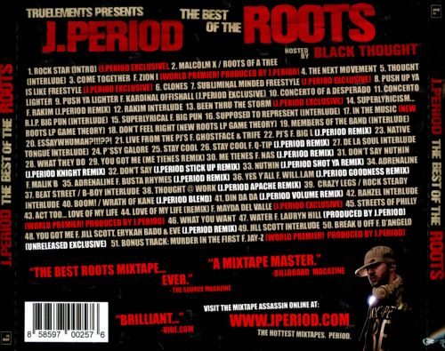 the best of the roots j period the roots songs reviews credits allmusic. Black Bedroom Furniture Sets. Home Design Ideas
