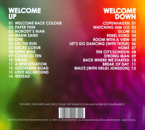 Welcome Back Colour