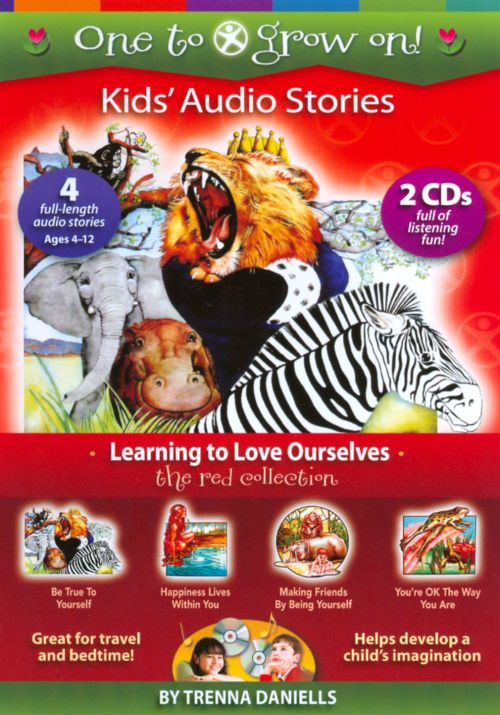One To Grow On! Kids' Audio Stories: The Red Collection