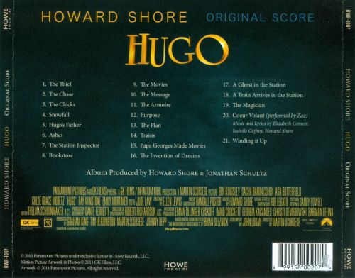 Hugo [Original Motion Picture Soundtrack]