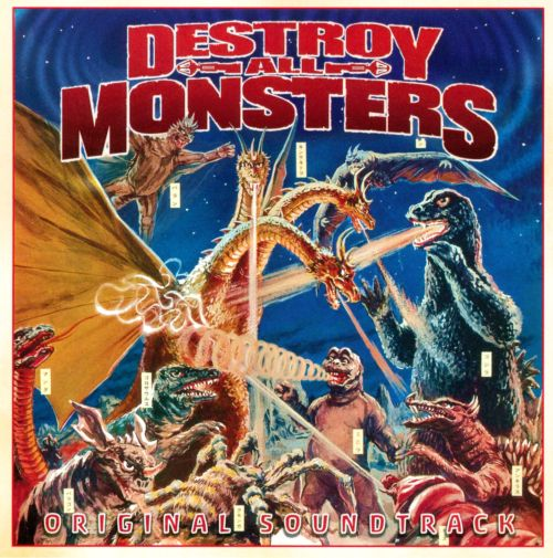 Destroy All Monsters [Original Motion Picture Soundtrack]