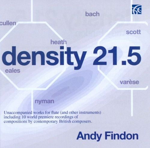 Density 21.5: Unaccompanied Works for Flute (And Other Instruments)