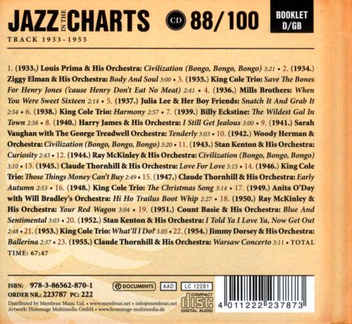 Jazz in the Charts, Vol. 88: 1947-1948