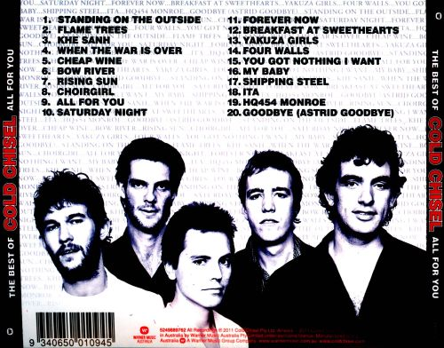 The Best of Cold Chisel: All for You - Cold Chisel   Songs ...