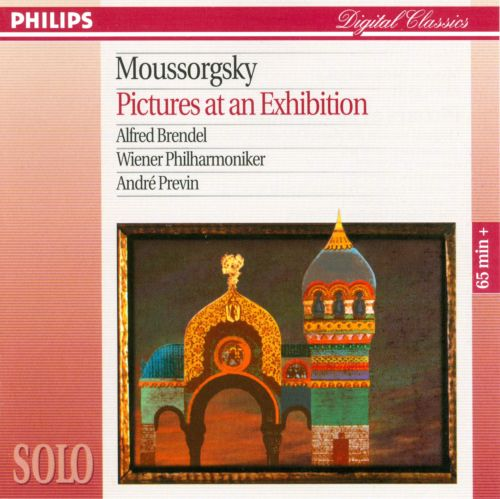 Pictures at an Exhibition (Kartinki s vïstavski), for orchestra, orchestrated by Ravel