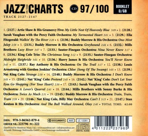 Jazz in the Charts, Vol. 97: You'll Never Know 1952-1953
