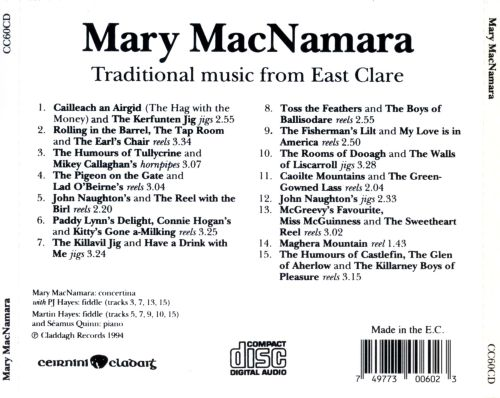 Traditional Music From East Clare