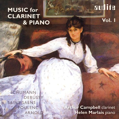 Music for Clarinet & Piano, Vol. 1