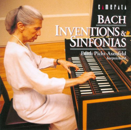 J.S. Bach: Inventions & Sinfonias