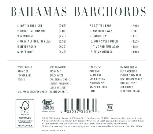 Barchords Bahamas Songs Reviews Credits Allmusic
