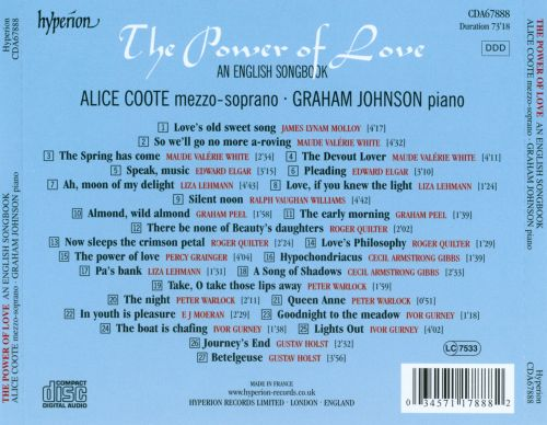 The Power of Love: An English Songbook