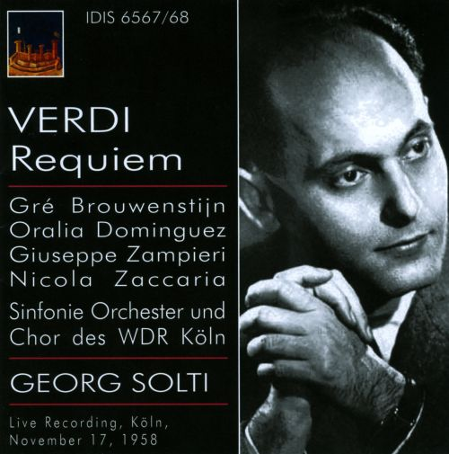 Verdi: Messa da Requiem [1958 Live Recording]