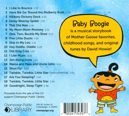 Baby Boogie: Music & Rhymes For Infants & Toddlers
