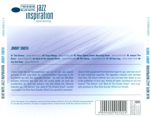 Blue Note Jazz Inspiration