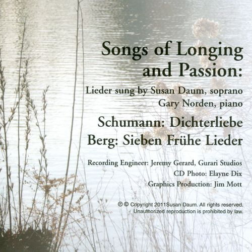 Songs of Longing & Passion