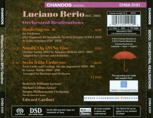 Luciano Berio: Realisations