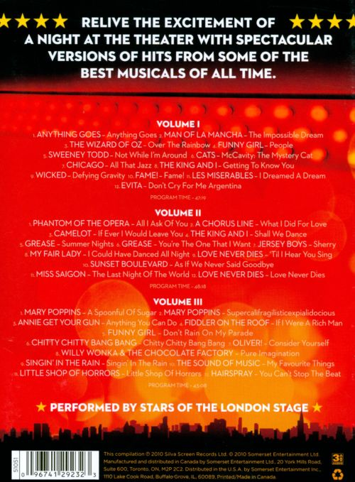 Show Stoppers: The Best Songs from the Biggest Musicals