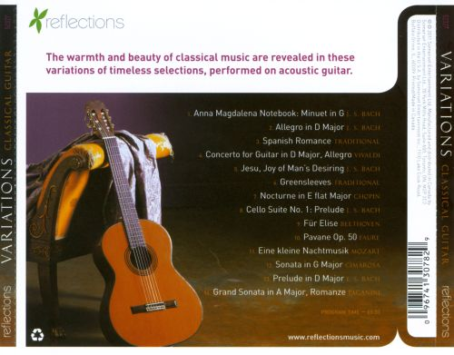 Classical Guitar Variations