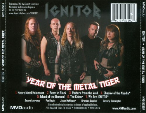 Year of the Metal Tiger
