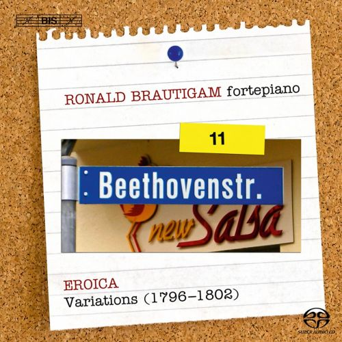 Beethoven: Complete Works for Solo Piano, Vol. 11 - Eroica Variations (1796-1802)