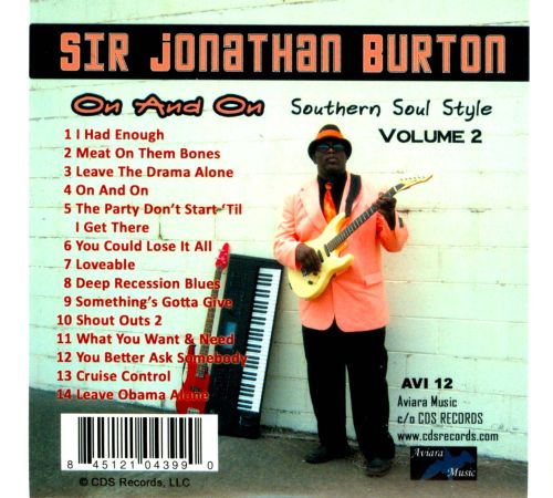 On And On: Southern Soul Style, Vol. 2